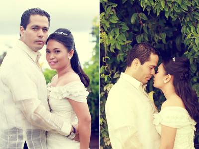 Cebu wedding:  Willmer Andres + Karla Rae
