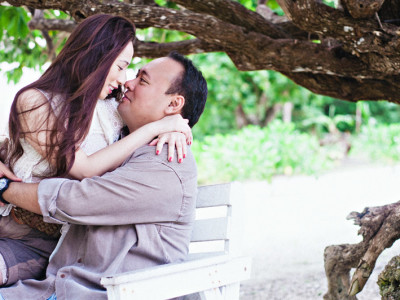 Amun Ini engagement session:  Ernest + Vanessa