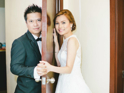 Cebu wedding:  Andrew & CJ's wedding