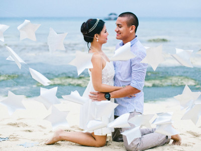 Of Candy Bars, Pastel Kites, and Silver Stars:  Justin & Kayem Engagement Session