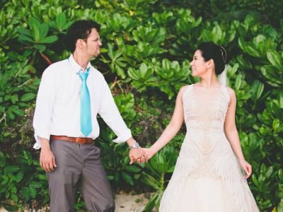 Boracay Wedding:  JR + Akie