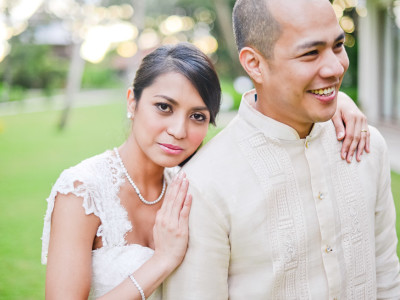 Cebu January Wedding:  Kenneth and Mae Anne