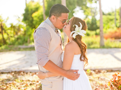 Demy & Lori's Beach Wedding