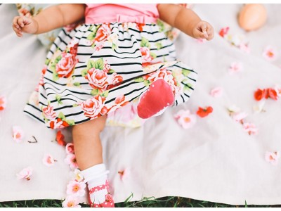 Pre-christening and a quick family session:  The Canonizado's