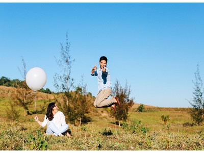 Easy breezy engagement session:  Japs and Raqz